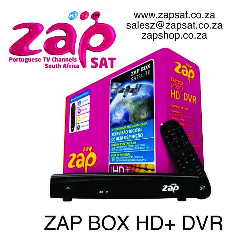 ZAP BOX HD + DVR